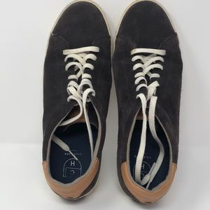 Cole Haan suede sneakers, charcoal gray, size 11.5